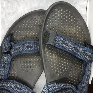 💦 Men's Velcro Teva Sandals Size 11M 💦